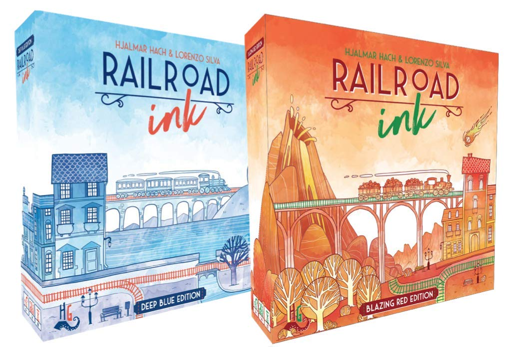 Railroad Ink Red and Blue Game Set SG/_B07GQ4ZKGX/_US