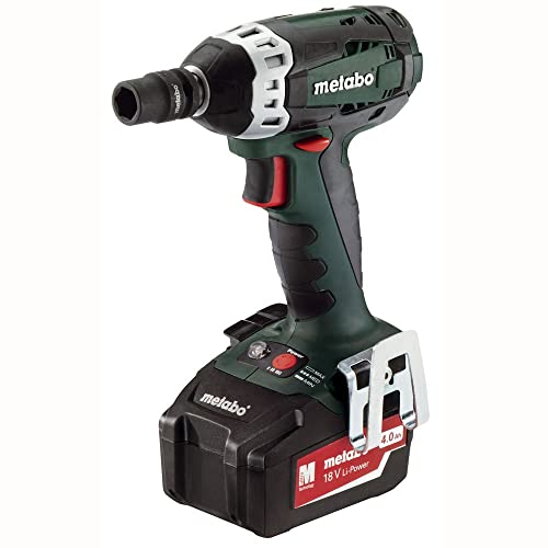 Metabo SSW18 LT 18V 1 2-Inch Impact Wrench Kit, Green Black