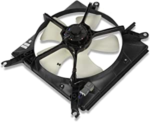 HO3115105 OE Style Radiator Cooling Fan Assembly Replacement for Honda Accord 90-93