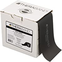 TheraBand Special 25 Yard-Latex Free Bands, Black