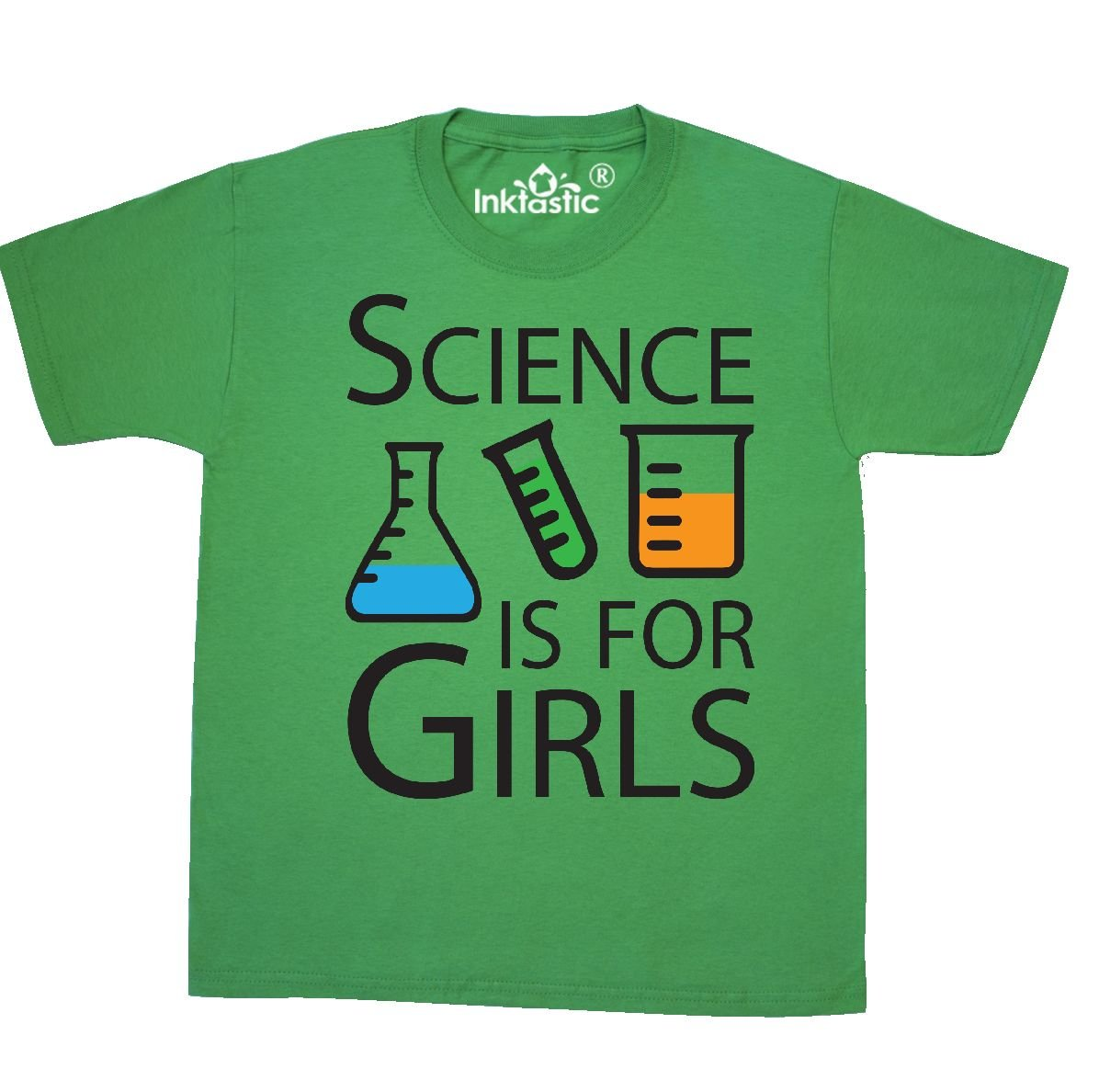 Science Is For Girls T Shirt