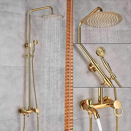 FMXKSW Set de Ducha Mezcladores de Ducha de baño Dorado Juego de ...