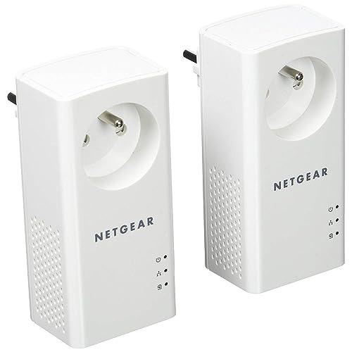 Netgear plp1000 100PES Pack de 2 adaptadores CPL 1000 Mbps