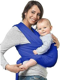 NewPI Fular Portabebés Elástico Portador de Bebé, Portador de Bebé Elastico para llevar al Bebé…