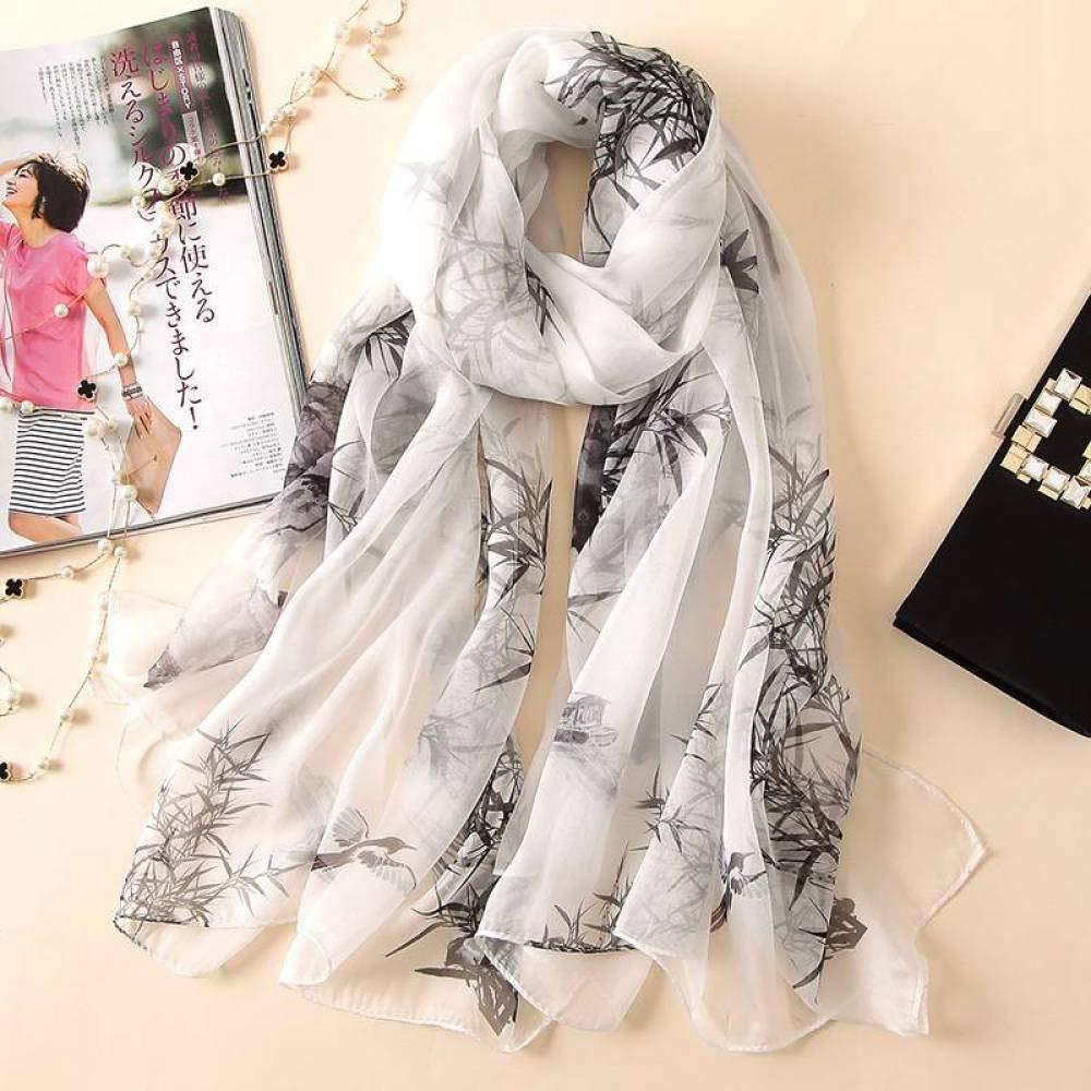 One 175110cm Ladies Silk Scarves Printed Shawl Wild Beach Towel Hqysjin