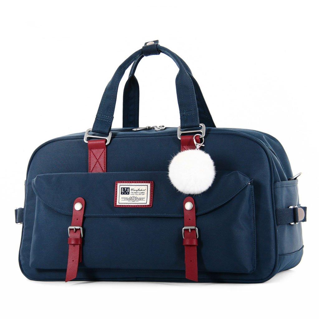 Männer und Frauen Tasche dynamische Freizeit Leinwand Kind Herz Donut Multifunktions große Freizeit dynamische Reisetasche (Farbe : D) cc62ad