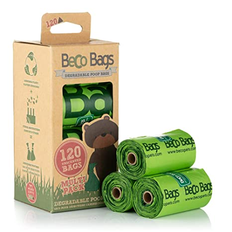Bolsas ecológicas Beco Things para heces de Perro