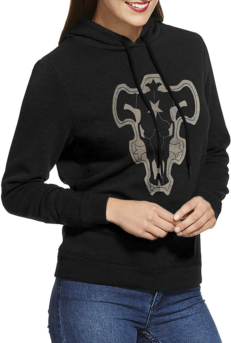 Black Clover Black Bull Sweatshirt Women Pullover Sweatshirt Print Hoodies Without Pocket