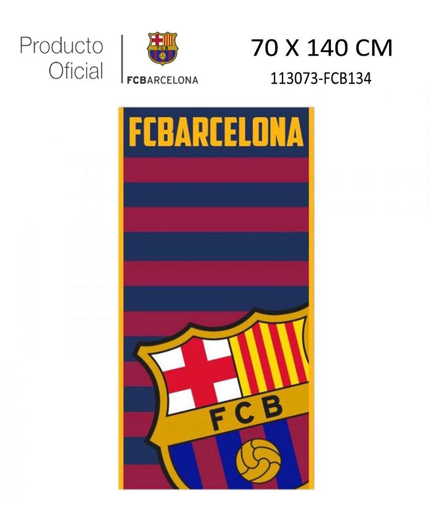 Producto Oficial FC Barcelona Toalla DE Playa Y Baño FCBARCELONA Barça 70X140CM (113073-FCB134, 100% POLIÉSTER): Amazon.es: Hogar