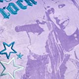 Hannah Montana Girls Rock Decorative Pillow, Purple/Green