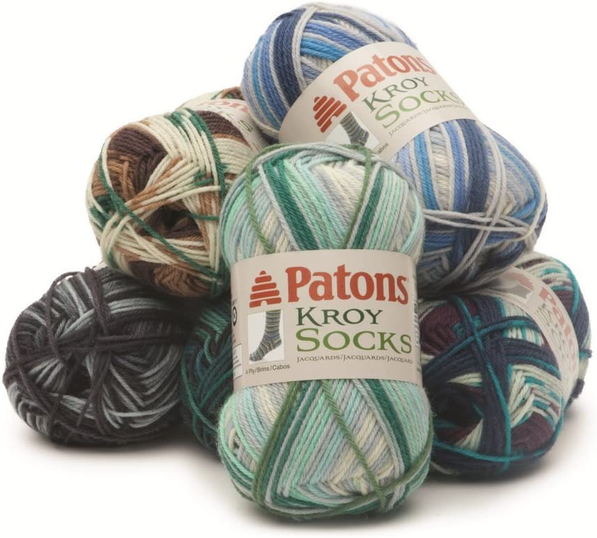 Spinrite Kroy Socks Yarn Eclipse Stripes