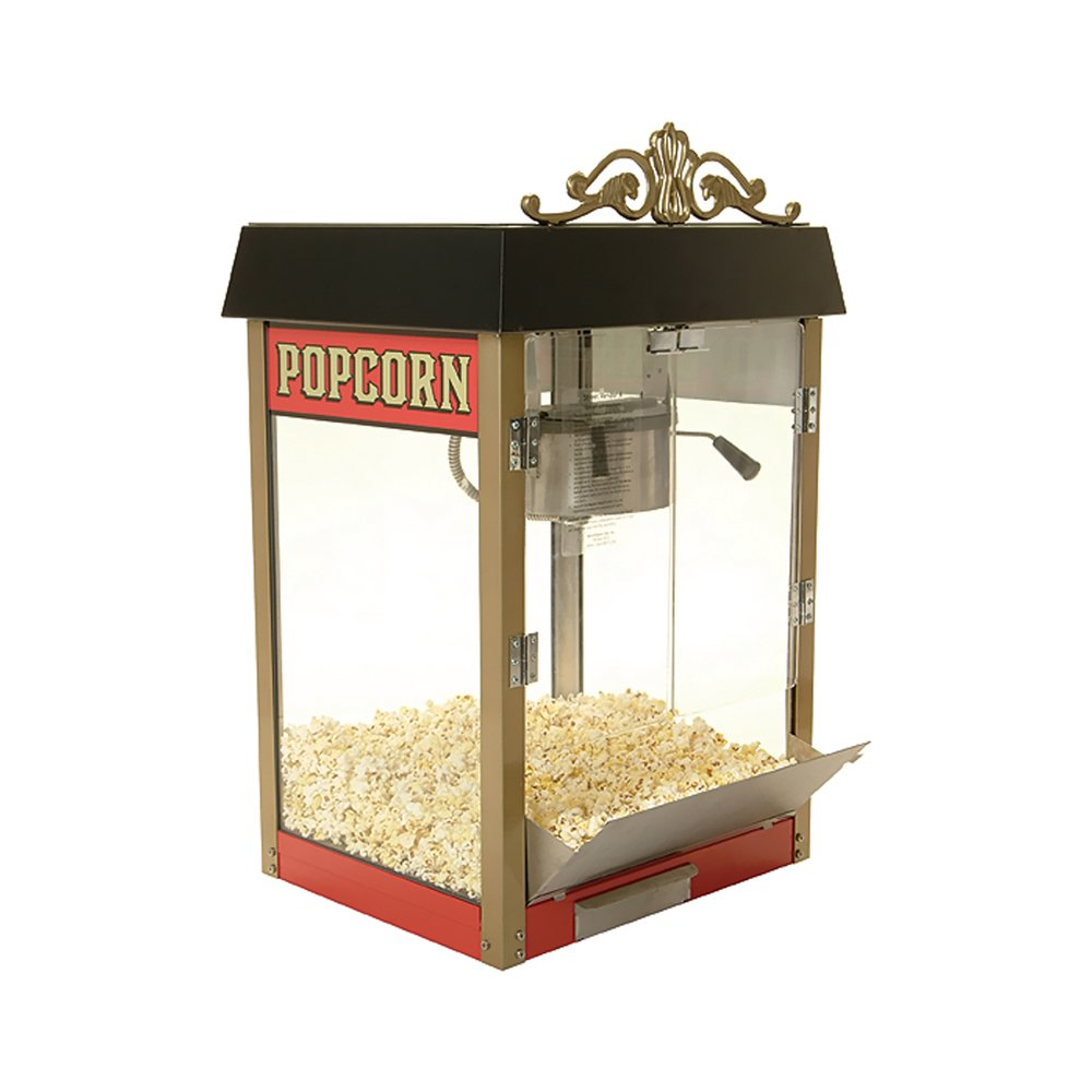 Benchmark 11080 Street Vendor Popcorn Machine 12A 120V 1430W 8 oz Popper Benchmark USA