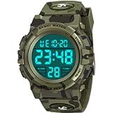 ATOPDREAM Waterproof Sports Digital Watch for Kids - Idea Gifts