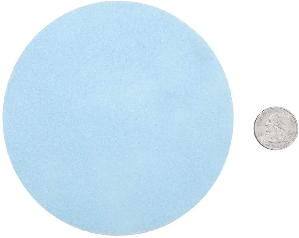 Playfully Ever After 5 Inch Light Blue 18pc Felt Circles