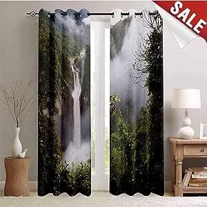 Rainforest Gromets Curtain Decoration Bedroom Decor San