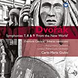 Classical Music : Dvorak: Symphonies 7, 8 & 9 'From the New World', Overture Carnaval, Scherzo Capriccioso, Carlo Maria Giulini