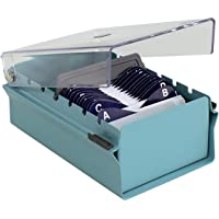 Acrimet Organizador para Tarjetas de Presentación con Divisor y Indice A-Z incluidos (Índice A-Z 95mm X 68mm ) (Base de…