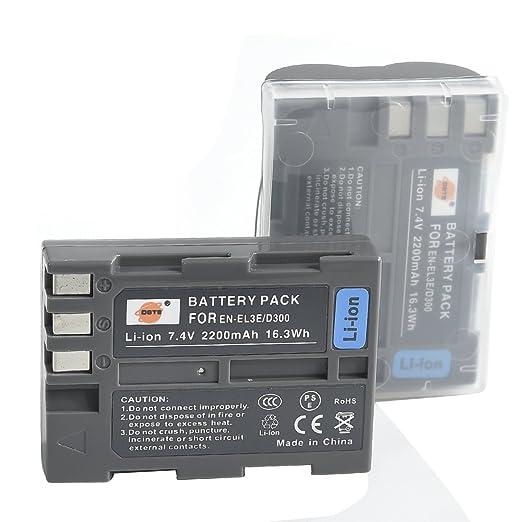 4 opinioni per DSTE 2-Pacco Ricambio Batteria per Nikon EN-EL3E D30 D50 D70 D70S D80 D90 D100