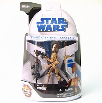 Star Wars Battle Droid The Clone Wars Action Figure