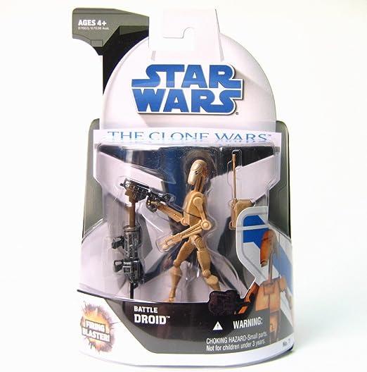 star wars clone wars figures 3.75 Zeros Commando Droid #1