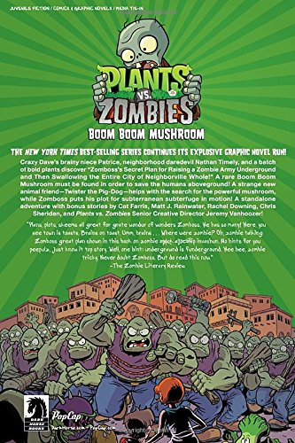 Plants Vs. Zombies Volume 6: Boom Boom Mushroom: Amazon.es ...