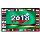WM 2018 Alle LÄNDER 90x150 Fahnen Fahne  Hissfahne Deutschland Flagge mit ÖSEN
