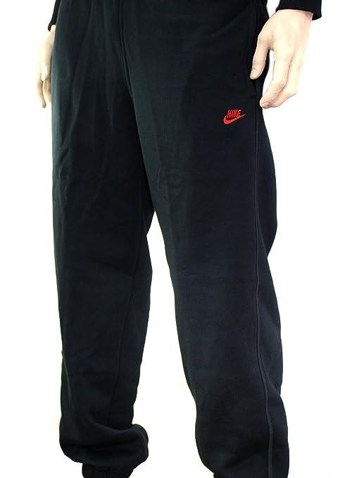 Nike - Pantalones de chándal para hombre (talla XL), color negro ...