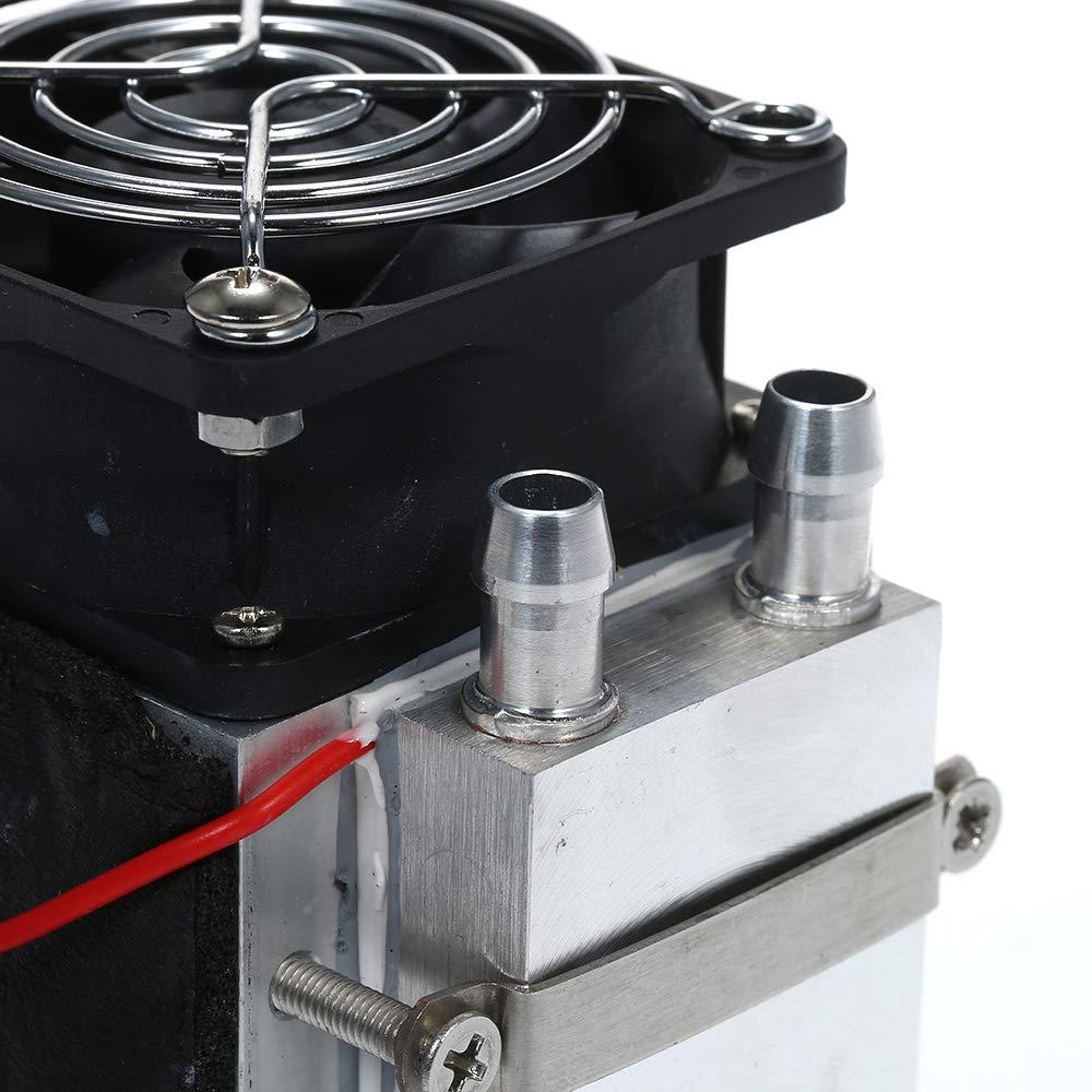 Hylotele DIY 240 W 12 V Electr/ónica Peltier Semiconductor Refrigerador termoel/éctrico Refrigerador por Agua Condici/ón del Aire Sistema de enfriamiento por Movimiento