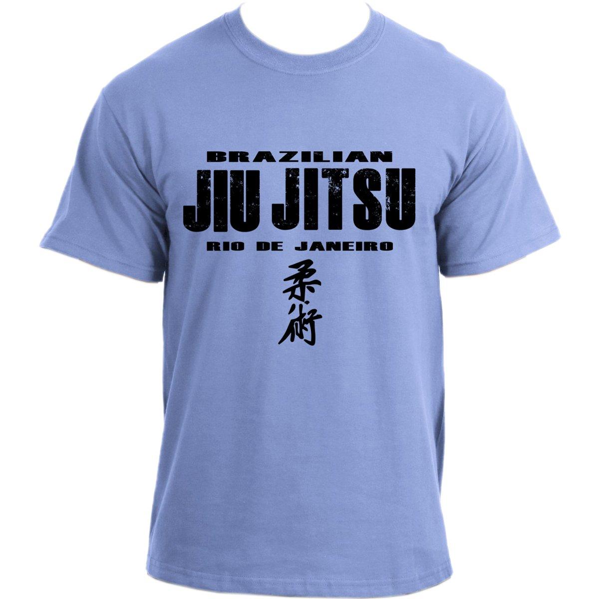 c43c00192 Brazilian Jiu Jitsu Rio de Janeiro MMA UFC BJJ T-shirt: Amazon.co.uk:  Clothing