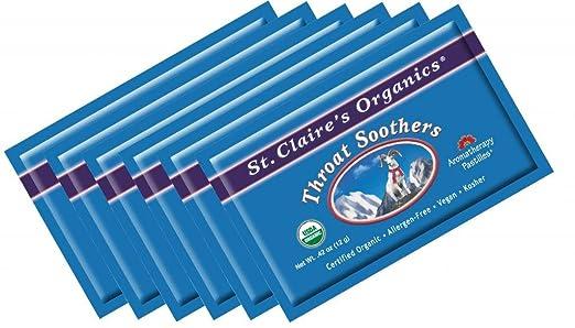 St. Claires Organics - Bolsa para chupetes de garganta ...