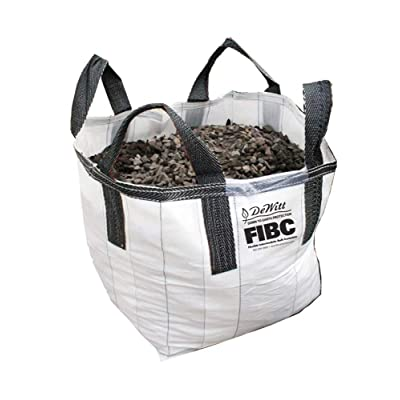 DeWitt Flexible Intermediate Bulk Container, 1 Cubic Yard Capacity Bag : Garden & Outdoor
