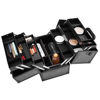 cliff.l Caja organizadora de Maquillaje: 6 bandejas ...