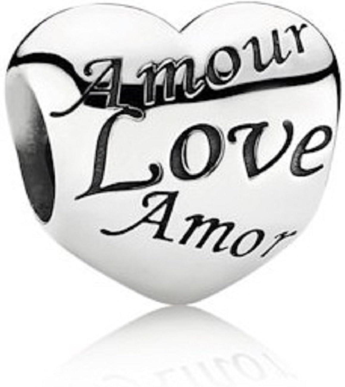 charm pandora amour