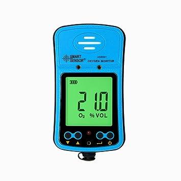Dig dog bone AS8901 - Analizador de gas de oxígeno portátil para control de riotes (medidor digital O2 de gas): Amazon.es: Electrónica