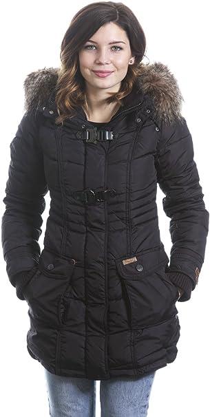 Khujo Aque Parka Mantel Jacke schwarz neue Kollektion 2014
