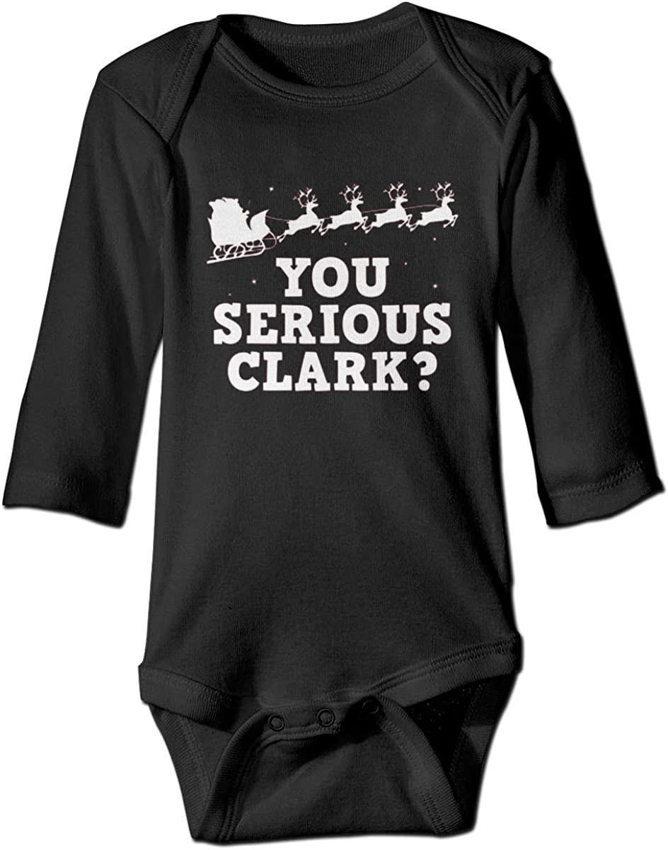 Marsherun Baby Boys Girls You Serious Clark Long-Sleeve Rompers Playsuit