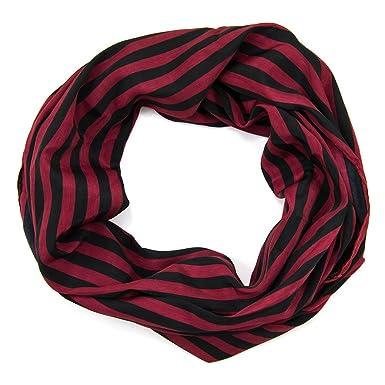 23acc4c062a ManuMar écharpe foulard bande Loop rond écharpe écharpe pour femme endlos  écharpe d été printemps Loop Écharpe Loop Écharpe Petite amie femme cadeau  ...