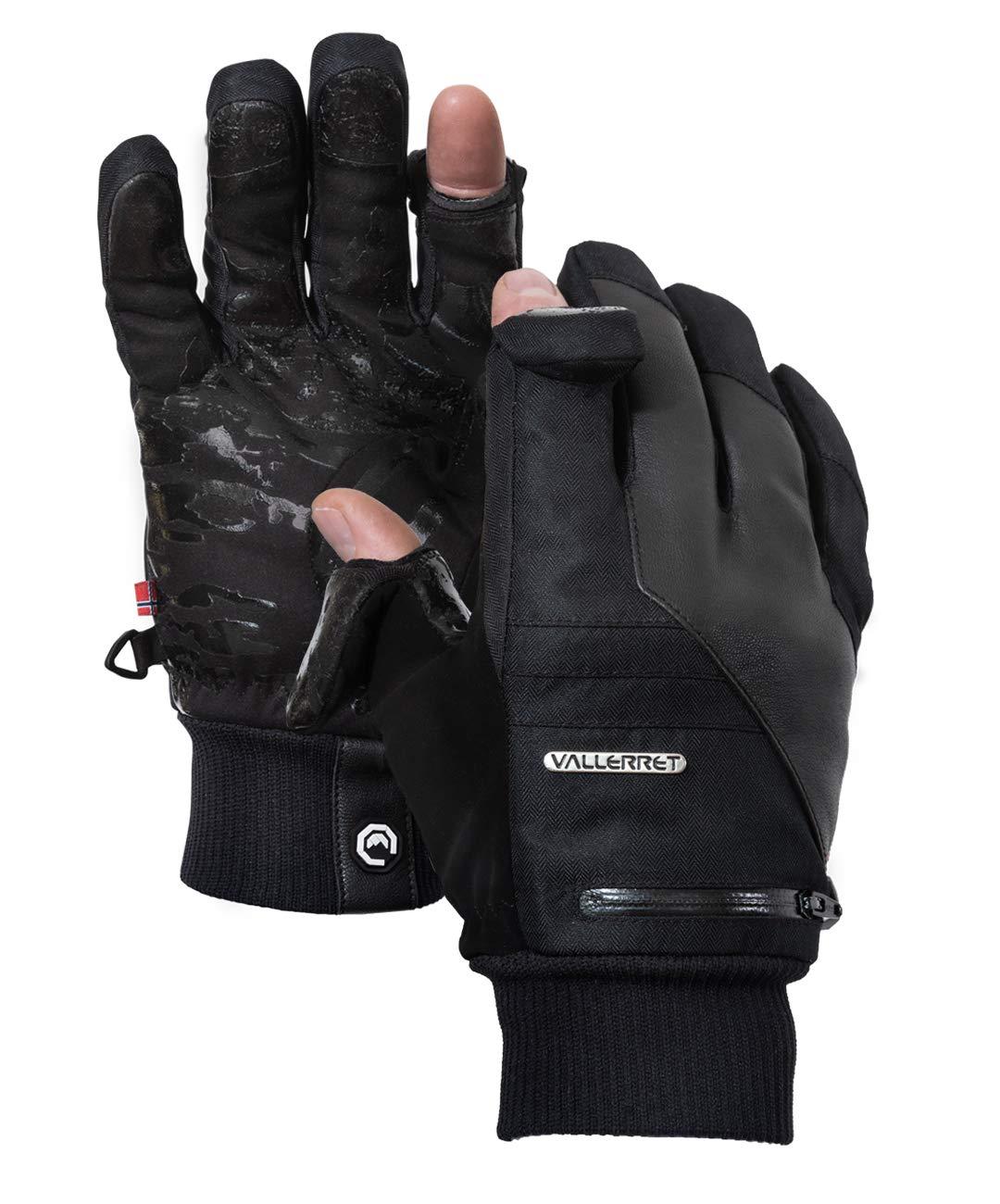 Markhof Pro Model 2.0. Vallerret Photography Gloves for better winter photography (Black, L)