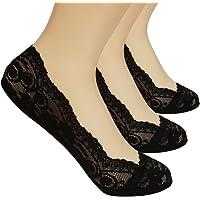 MuYiTai Women's Lace No Show Socks Thin Casual Low Cut