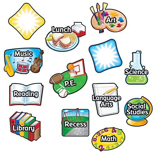 Amazon Learning Resources Magnetic Subject Labels Teaching Materials Office Products