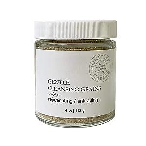 Honeybee Gardens Gentle Cleansing Grains for Aging Skin