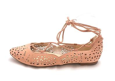 Nine West Frauen Mai Geschlossener Zeh Leder Gleit Sandalen