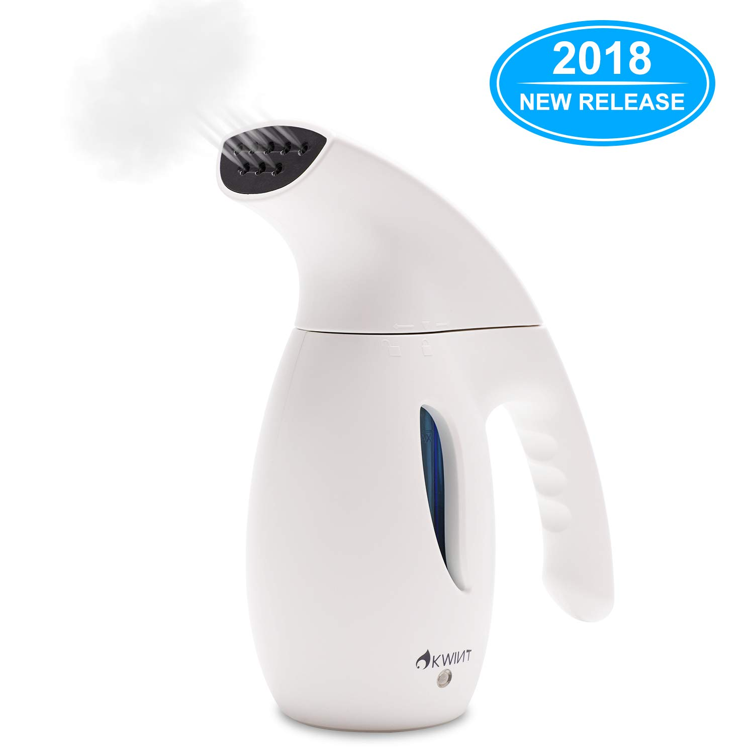 OKWINT Garment Steamer 180ml Portable Handheld Fabric Steamer Fast Heat-up Powerful Travel Garment Clothes Steamer High Capacity Home Travel by OKWINT