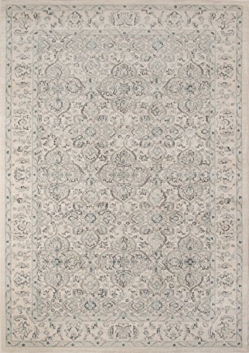 (Momeni Rugs ZIEGLZE-02IVY7A9A Ziegler Collection, Traditional Area Rug, 7'10