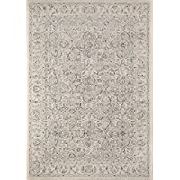 Momeni Rugs ZIEGLZE-02IVY2030 Ziegler Collection, Traditional Area Rug, 2 x 3, Ivory