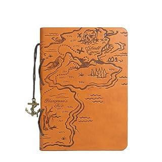 GN&LM Taccuino Taccuino King Of The Sea Libro Del Tesoro Dei Pirati Vintage Noto