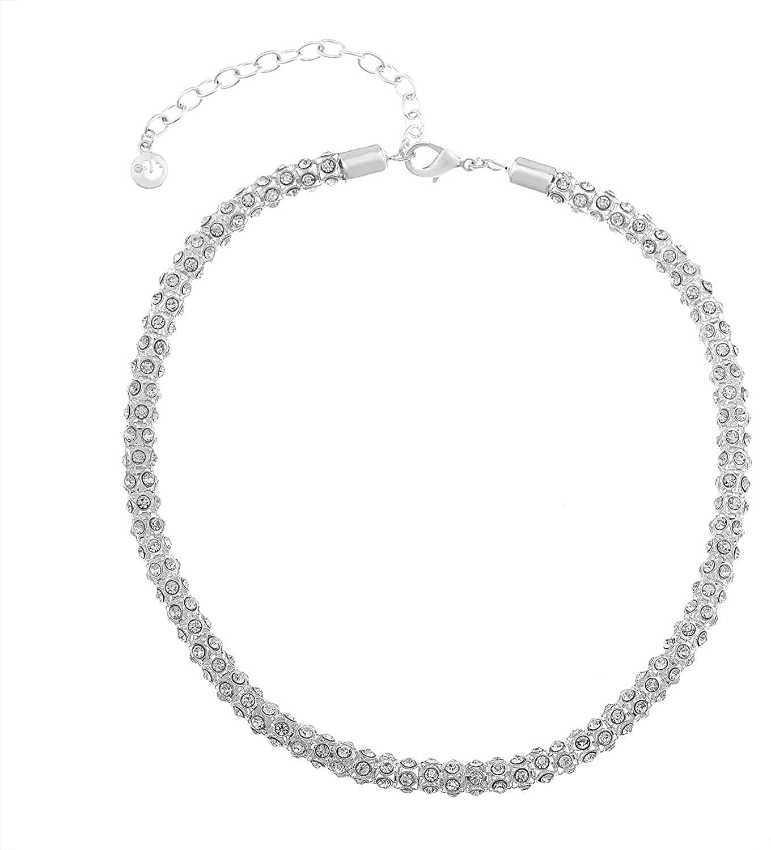 Gloria Vanderbilt Mesh Stone Chain Collar