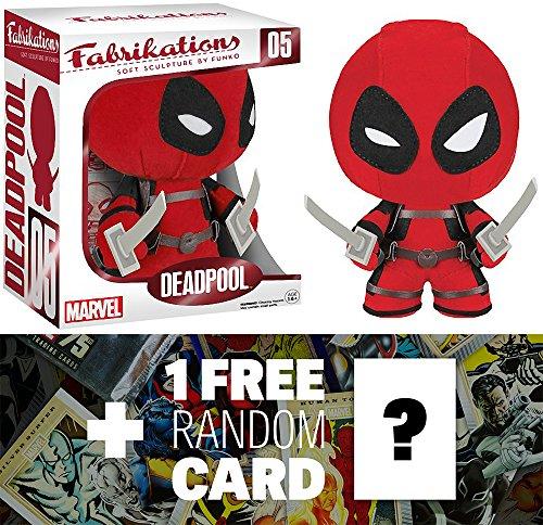 Deadpool: Funko Fabrikations x Marvel Universe Figure + 1 FREE Official Marvel Trading Card Bundle