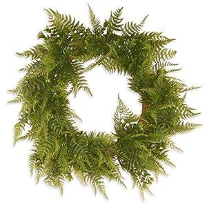 National Tree Company Garden Accents 22 in. Boston Fern Wreath - Green 94