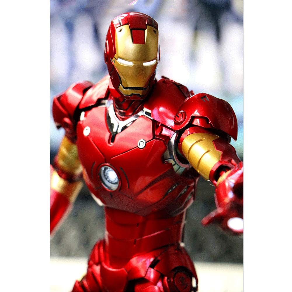 Wen Zhe Marvel-Legierung Iron Man Modell Iron Man Avengers League Mark3 Spielmodell